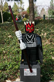 CARLSBAD, US, FEB 6: Star Wars Darth Maul Minifigure made with l Royalty Free Stock Photography