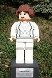 CARLSBAD, US, FEB 6: Star Wars Princess Leia Organa Minifigure m Royalty Free Stock Photo