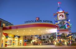 CARLSBAD USA, FEBRUARI 5: Legoland hotell i Carlsbad, Kalifornien på F Royaltyfria Bilder