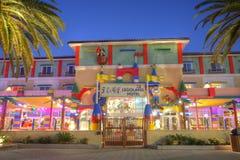 CARLSBAD USA, FEBRUARI 5: Legoland hotell i Carlsbad, Kalifornien på F Royaltyfria Foton