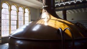 Carlsberg  brewery, historic building. Stock Photos