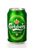 Carlsberg Dose Stockfotografie