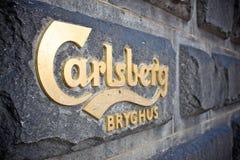 Carlsberg signage Stock Image