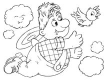 carlson latanie ilustracji