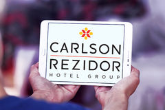 Carlson rezidor hotel group logo Royalty Free Stock Images