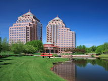 Carlson Towers. Are buildings for Corporate Headquater in Minnetonka Stock Image