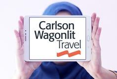 Carlson Wagonlit agenci podróży logo zdjęcia royalty free