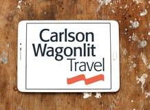 Carlson Wagonlit agenci podróży logo Zdjęcie Royalty Free