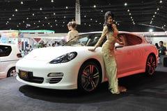Carlsson justierte Mischling Porsche-Panamera S stockfotografie