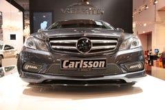 Carlsson Mercedes Zoll-Auto stockbilder