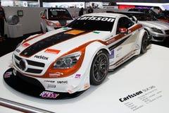 De Première van de Wereld Judd van Carlsson SLK 340 - de Show van de Motor van Genève 2013 Stock Fotografie