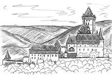Carlstein illustration de vecteur