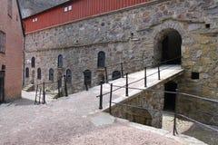 Carlsten fästning Royaltyfria Foton