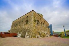 Carlsten fästning i Marstrand, västra Sverige Fotografering för Bildbyråer