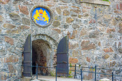 Carlsten fortress in Marstrand, western Sweden Stock Images