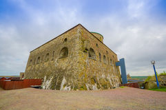 Carlsten fortress in Marstrand, western Sweden stock image
