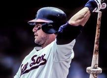 Carlton Fisk, catcher των Chicago White Sox στοκ εικόνες με δικαίωμα ελεύθερης χρήσης