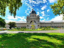 Carlton Garden  exhibition building Royalty Free Stock Images