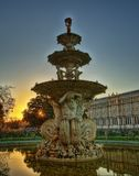 Carlton Gardens Lizenzfreie Stockbilder