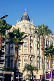Carlton Hotel in Cannes, France Stock Images