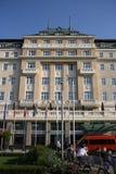 Carlton hotel w Bratislava (Sistani) obrazy stock