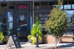 Carlton miasto W Yamhill okręgu administracyjnego wina kraju zdjęcie royalty free
