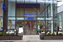 Carluccio`s Deli and Dining Italian Restaurant in Bracknell, England. Bracknell, England - March 20, 2018: Carluccio`s Deli & Dining in Bracknell, England with Stock Image