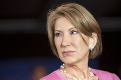 Carly Fiorina Stock Images