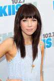 Carly Rae Jepsen arrives at the  Stock Photo