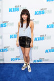 Carly Rae Jepsen arrives at the  Stock Photography