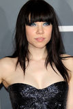 Carly Rae Jepsen. LOS ANGELES - FEB 10:  Carly Rae Jepsen arrives at the 55th Annual Grammy Awards at the Staples Center on February 10, 2013 in Los Angeles, CA Stock Photo