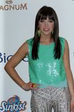 Carly Rae Jepsen na música 2012 do quadro de avisos concede o quarto de imprensa, Mgm Grand, Las Vegas, nanovolt 05-20-12 Imagem de Stock