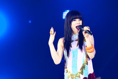 Carly Rae Jepsen Royalty Free Stock Photography