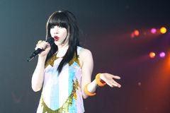 Carly Rae Jepsen Royalty Free Stock Images