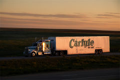 Carlyle Van Lines Sunset Photos stock