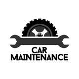 Carmaintenance Logo Template Photo stock