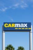 Carmax Dealership Sign and Logo Stock Photography
