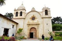 Carmel, ΗΠΑ - 14 Ιουλίου 2016: καθολική αποστολή Στοκ Εικόνες