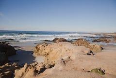 Carmel морем, CA стоковое фото