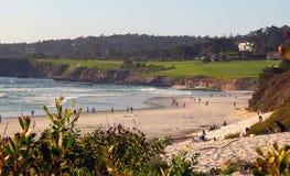 carmel пляжа Стоковые Изображения