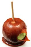 Carmel Apple Close Up Image stock