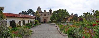 Free Carmel By The Sea, Mission, Mission San Carlos Borromeo, Catholicism, Garden, Flowers, California, United States, Church Stock Photos - 71920283