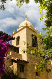Carmel Catholic Mission, example  Spanish Colonial Style Stock Photography