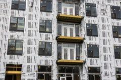 Carmel - circa im März 2017: Neue Wohnblock-und Multi-Wohnungs-Blockbauweise Der Carmel-Bereich macht schnelles Wachstum I durch Lizenzfreie Stockfotografie
