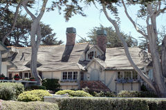 Carmel Cottage. Cute cottage in Carmel California Royalty Free Stock Images