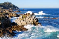Carmel dal mare Fotografia Stock