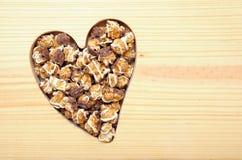 Carmel et maïs éclaté de chocolat Photographie stock