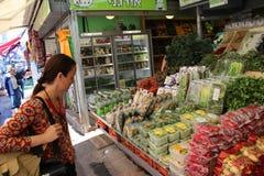 Carmel Market, Shuk Ha`Carmel, Jaffa, Tel Aviv royalty free stock photography