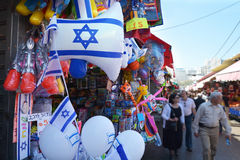 Carmel Market Shuk HaCarmel à Tel Aviv - en Israël Photos stock