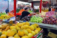 Carmel Market Shuk HaCarmel a Tel Aviv - Israele Immagine Stock